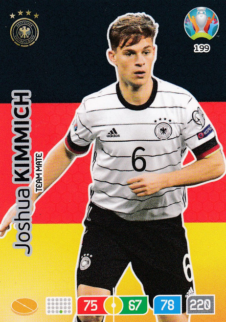 #199 Joshua Kimmich (Germany) Adrenalyn XL Euro 2020