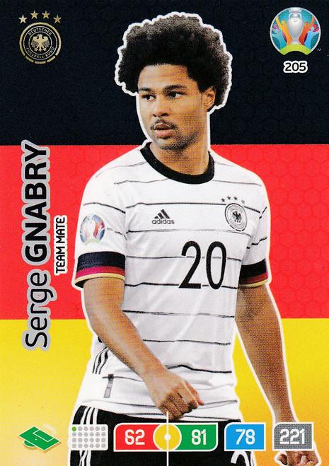 #205 Serge Gnabry (Germany) Adrenalyn XL Euro 2020
