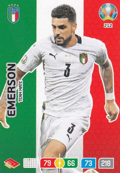 #212 Emerson (Italy) Adrenalyn XL Euro 2020