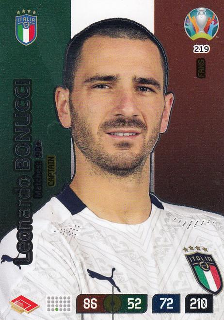 #219 Leonardo Bonucci (Italy) Adrenalyn XL Euro 2020 CAPTAIN