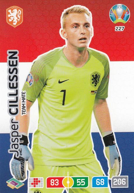 #227 Jasper Cillessen (Netherlands) Adrenalyn XL Euro 2020