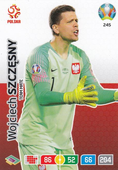 #245 Wojciech Szczesny (Poland) Adrenalyn XL Euro 2020