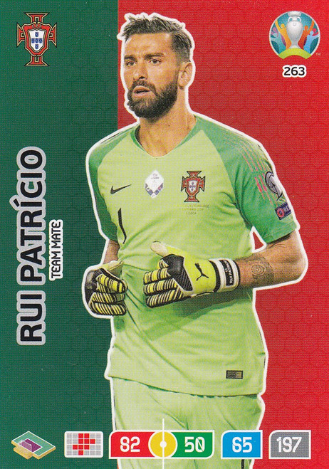 #263 Rui Patricio (Portugal) Adrenalyn XL Euro 2020
