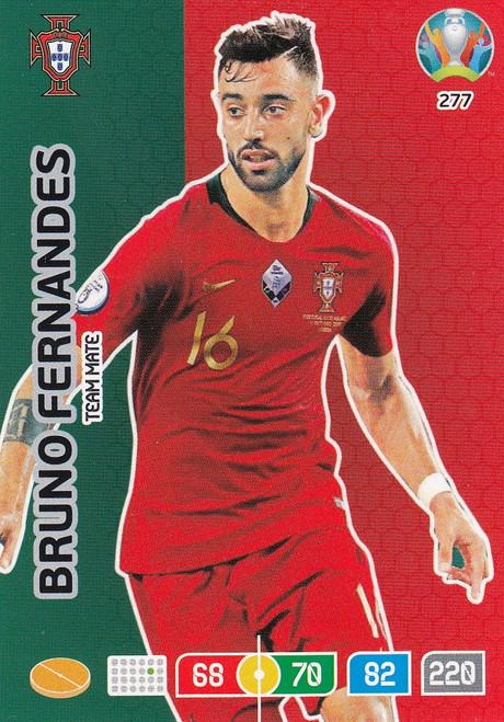 #277 Bruno Fernandes (Portugal) Adrenalyn XL Euro 2020