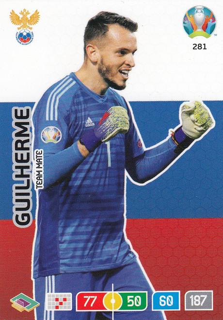 #281 Guilherme (Russia) Adrenalyn XL Euro 2020