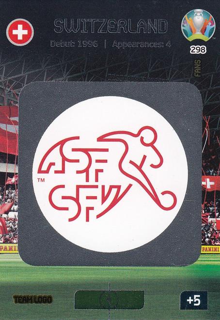 #298 Switzerland Logo Adrenalyn XL Euro 2020