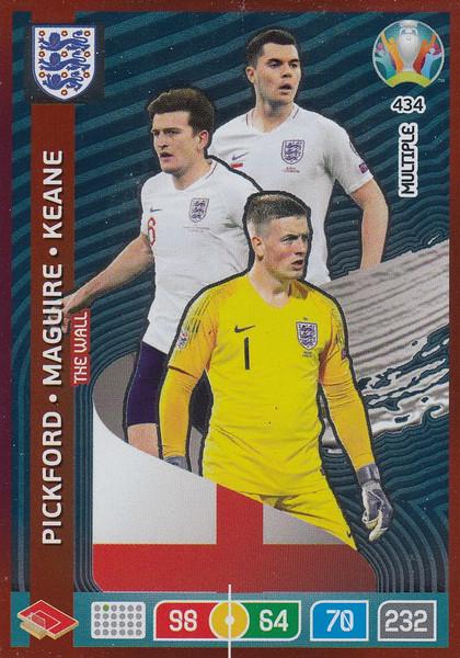 #434 England Adrenalyn XL Euro 2020 MULTIPLE - THE WALL