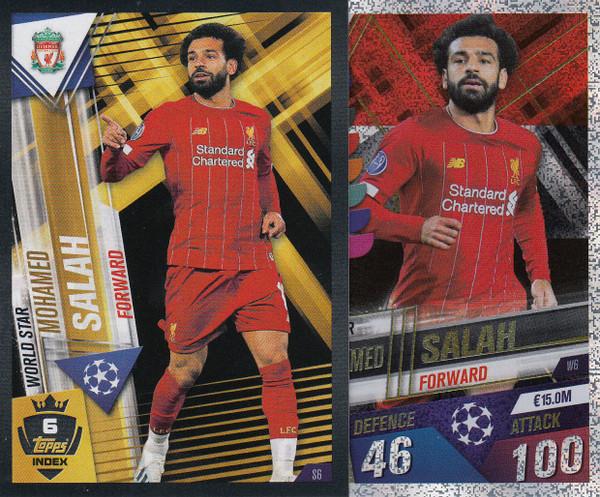 #W6 Mohamed Salah (Liverpool FC) Match Attax 101 2019/20
