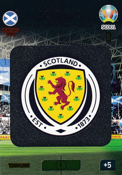 #SCO01 Scotland Logo Adrenalyn XL Euro 2020