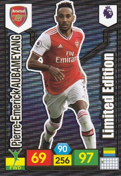 Pierre-Emerick Aubameyang (Arsenal) Adrenalyn XL Premier League 2019/20 LIMITED EDITION