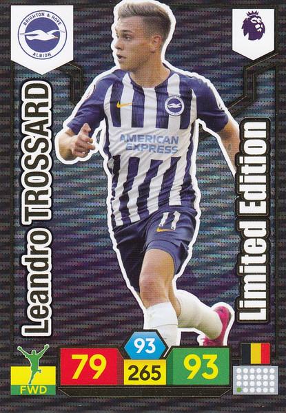 Leandro Trossard (Brighton & Hove Albion) Adrenalyn XL Premier League 2019/20 LIMITED EDITION
