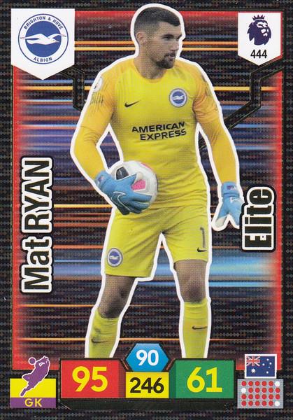 #444 Mat Ryan (Brighton & Hove Albion) Adrenalyn XL Premier League 2019/20 ELITE