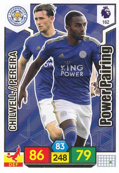 #162 Leicester City Power Pairing Adrenalyn XL Premier League 2019/20