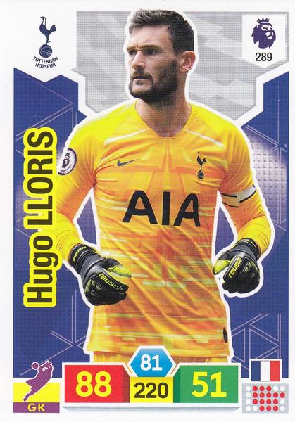 #289 Hugo Lloris (Tottenham Hotspur) Adrenalyn XL Premier League 2019/20