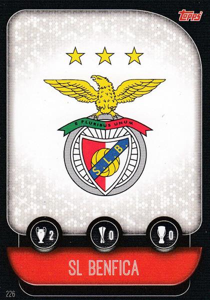 #226 SL Benfica Team Badge Match Attax Champions League 2019/20