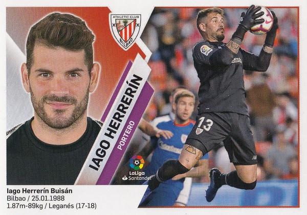 #1 Iago Herrerin (Athletic Club Bilbao) Coleccion Liga Este 2019-20