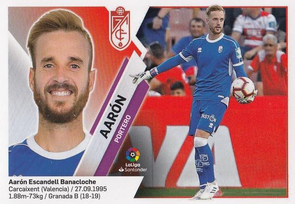 #2 Aaron (Granada CF) Coleccion Liga Este 2019-20