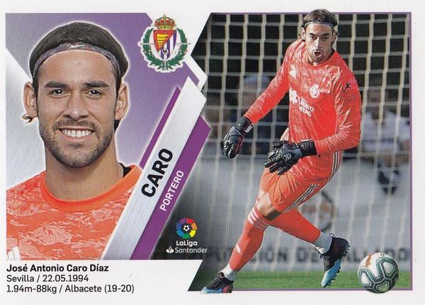 #2 Caro (Real Valladolid CF) Coleccion Liga Este 2019-20