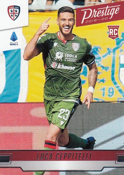 CAGLIARI Luca Ceppitelli Panini Chronicles 2019-20 Prestige Soccer ROOKIE