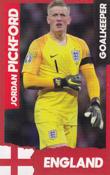Jordan Pickford (Everton/ England) Kick Magazine Top Teammates
