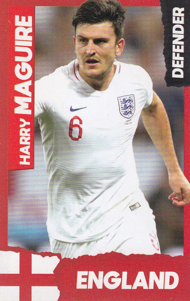 Harry Maguire (Manchester United/ England) Kick Magazine Top Teammates