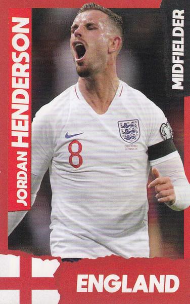 Jordan Henderson (Liverpool/ England) Kick Magazine Top Teammates