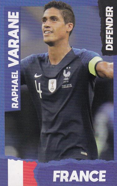 Raphael Varane (Real Madrid/ France) Kick Magazine Top Teammates