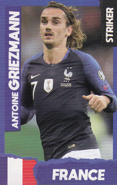 Antoine Griezmann (FC Barcelona/ France) Kick Magazine Top Teammates