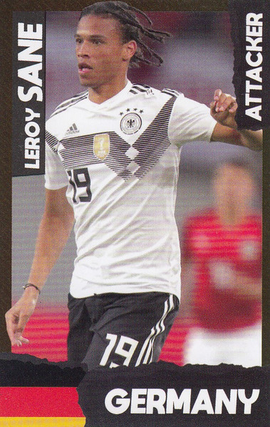 Leroy Sane (FC Bayern Munchen/ Germany) Kick Magazine Top Teammates