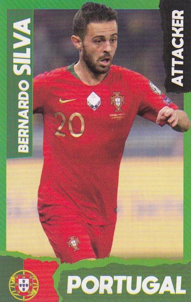 Bernardo Silva (Manchester City/ Portugal) Kick Magazine Top Teammates