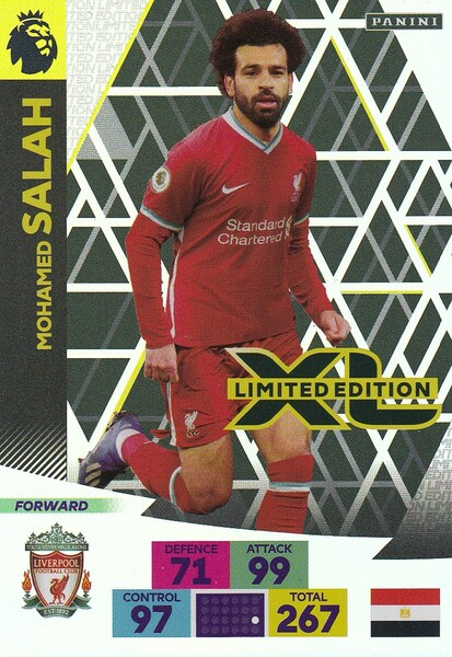 LIVERPOOL - Mohamed Salah Adrenalyn XL Premier League 2020/21 LIMITED EDITION