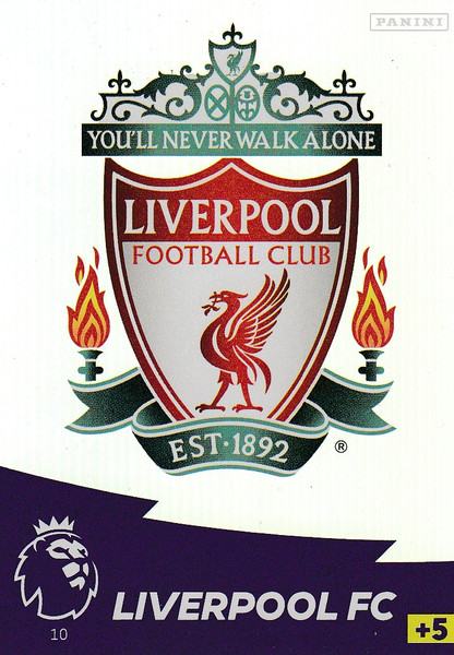 #10 Club Badge (Liverpool) Adrenalyn XL Premier League 2020/21