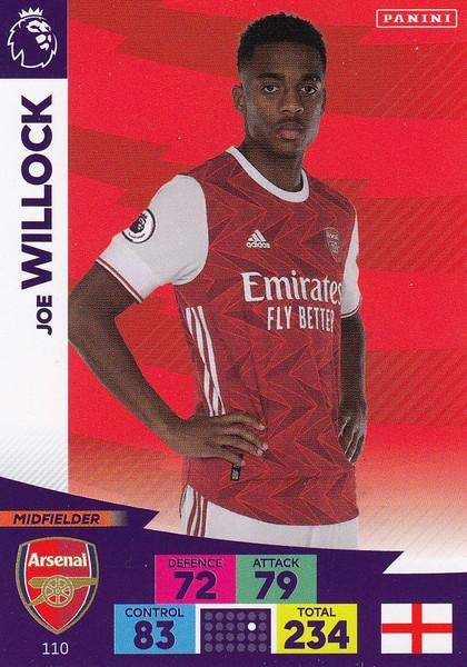 #110 Joe Willock (Arsenal) Adrenalyn XL Premier League 2020/21