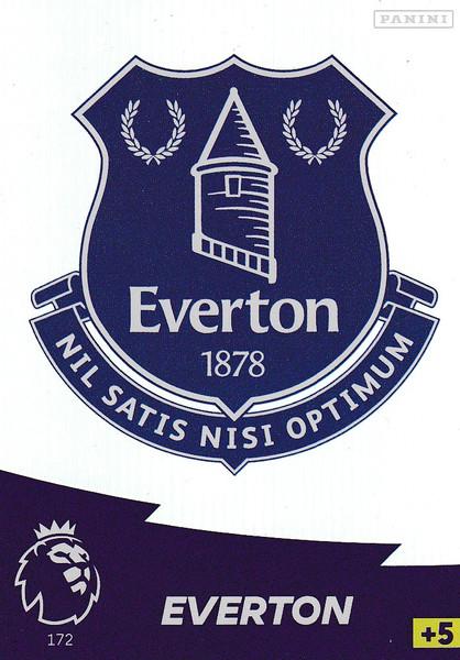 #172 Club Badge (Everton) Adrenalyn XL Premier League 2020/21