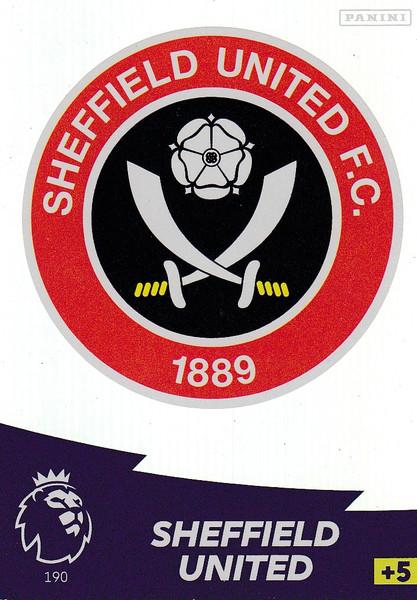 #190 Club Badge (Sheffield United) Adrenalyn XL Premier League 2020/21