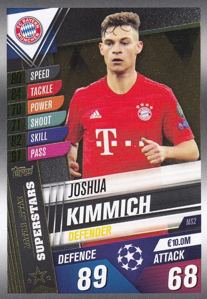 #MS2 Joshua Kimmich (FC Bayern Munchen) Match Attax 101 2019/20 MATCH ATTAX SUPERSTARS