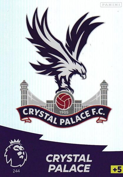 #244 Club Badge (Crystal Palace) Adrenalyn XL Premier League 2020/21