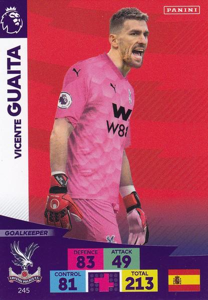 #245 Vicente Guaita (Crystal Palace) Adrenalyn XL Premier League 2020/21
