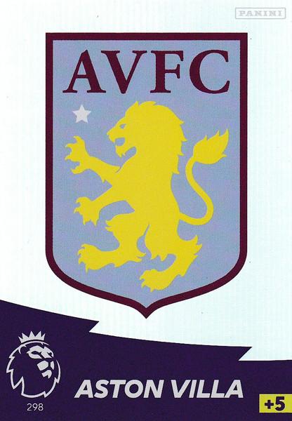#298 Club Badge (Aston Villa) Adrenalyn XL Premier League 2020/21