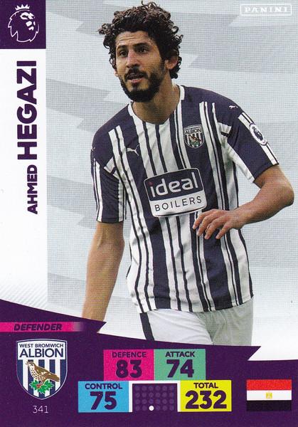 #341 Ahmed Hegazi (West Bromwich Albion) Adrenalyn XL Premier League 2020/21