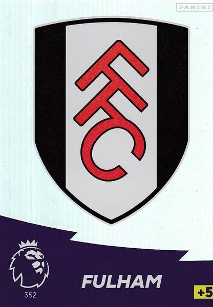 #352 Club Badge (Fulham) Adrenalyn XL Premier League 2020/21