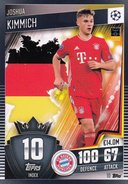 #10 Joshua Kimmich (FC Bayern München) Match Attax 101 2020/21