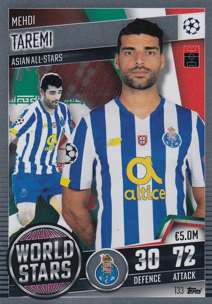 #133 Mehdi Taremi (FC Porto) Match Attax 101 2020/21 WORLD STAR