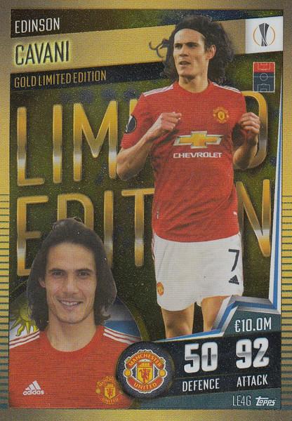 #LE4G Edinson Cavani (Manchester United) Match Attax 101 2020/21 LIMITED EDITION