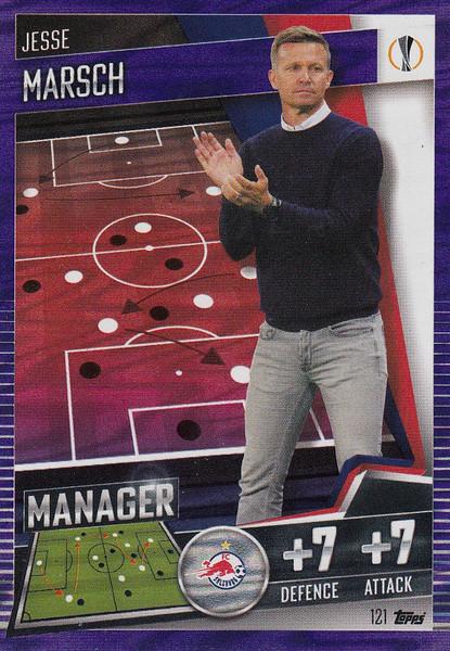 #121 Jesse Marsch (FC Salzburg) Match Attax 101 2020/21 PURPLE PARALLEL
