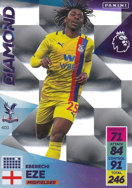 #400 Eberechi Eze (Crystal Palace) Adrenalyn XL Premier League 2021/22 DIAMOND