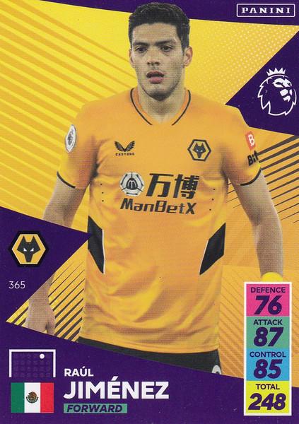 #365 Raúl Jiménez (Wolverhampton Wanderers) Adrenalyn XL Premier League 2021/22