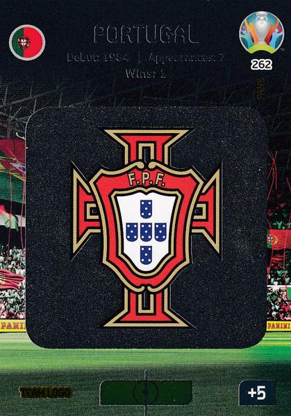#262 Portugal Logo Adrenalyn XL Euro 2020
