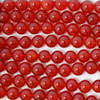 High Quality Grade A Red Agate Semi-precious Gemstone Round Beads 4mm, 6mm, 8mm, 10mm