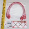 Sew In Bag Handles - Checks - Pink White - 30cm